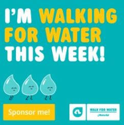 I'm walking this week (Facebook tile)