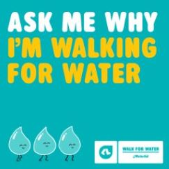 Ask me why I'm walking (Facebook tile)